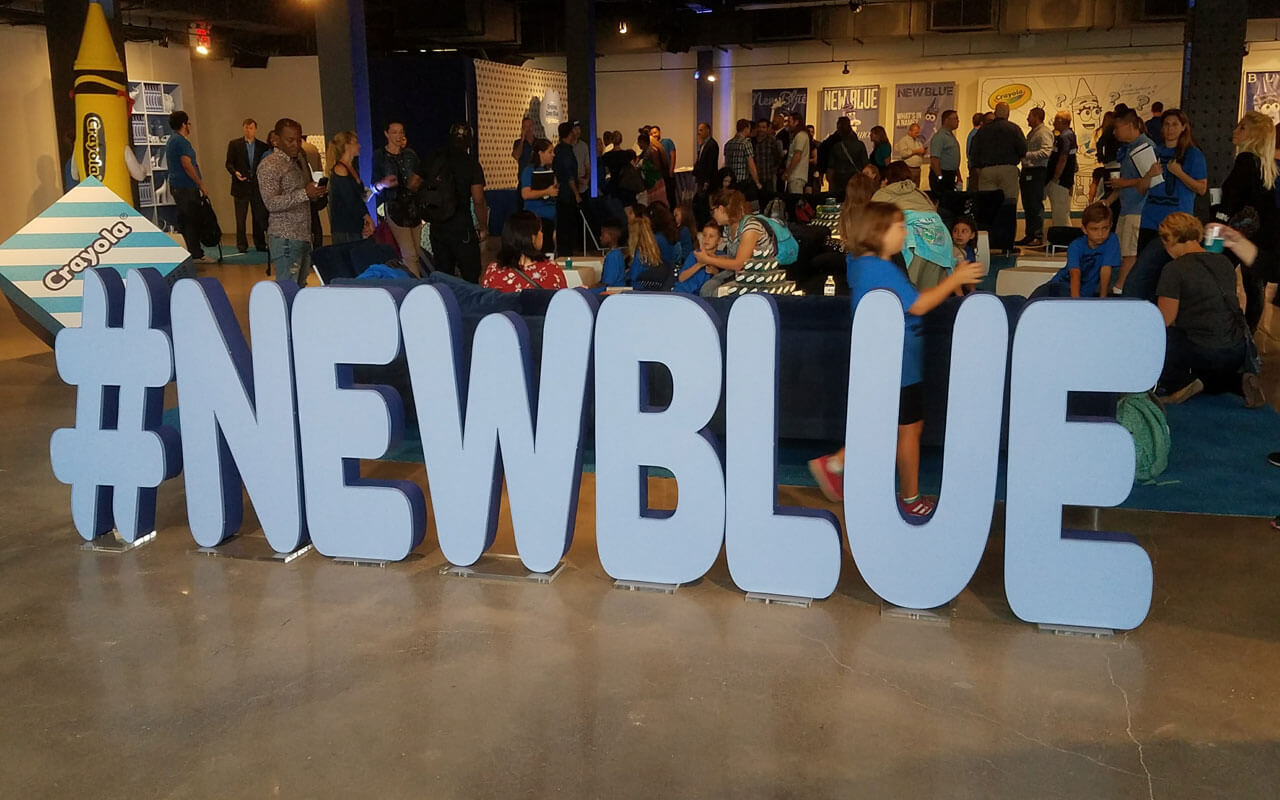 Crayola-NewBlue Hashtag Logo Temporary Wifi