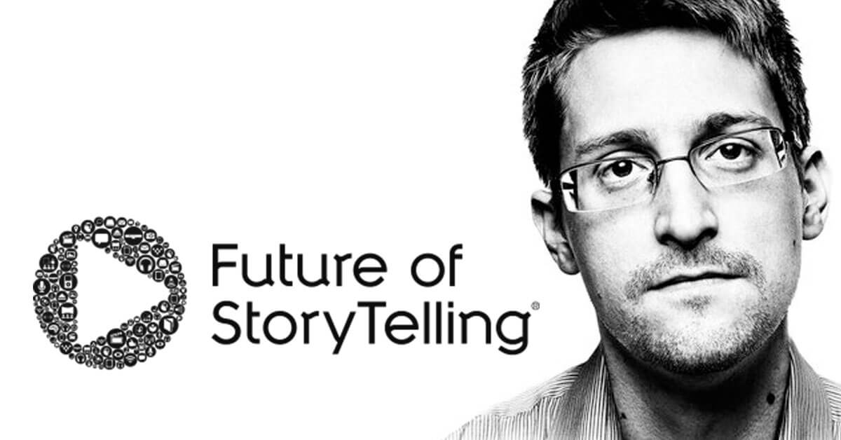 Future Of StoryTelling With Edward Snowden